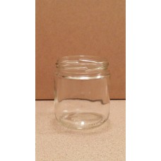12 Pack - 250ml / 330g Short Glass Jar