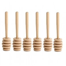 "4"" Wooden Honey Dipper"