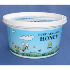 375ml / 500g Plastic Pure Canadian Honey Tub