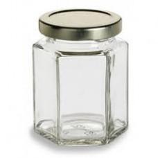 12 Pack - 110ml / 150g Hex Jars