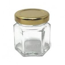 24 Pack - 45ml / 60g Hex Jar