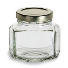 12 Pack - 110ml / 150g Oval Hex Jars