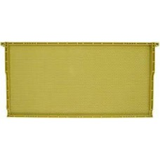 One Piece Plastic Deep Waxed Frame (Natural/Yellow)  (Special Order)