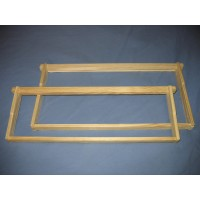 "9 1/8"" (23.18 cm) Deep Frame (Grooved Top/Bottom Bars)"