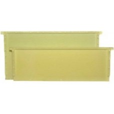 One Piece Plastic Medium Waxed Frame (Natural/Yellow)