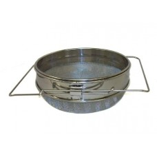 Two Stage Stainless Steel Sieve